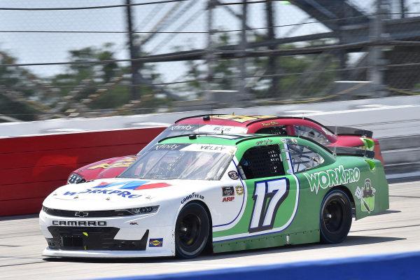 #17: J.J. Yeley, SS Green Light Racing, Chevrolet Camaro WORKPRO, #99: Ryan Ellis, B.J. McLeod Motorsports, Toyota Supra CorvetteParts.net