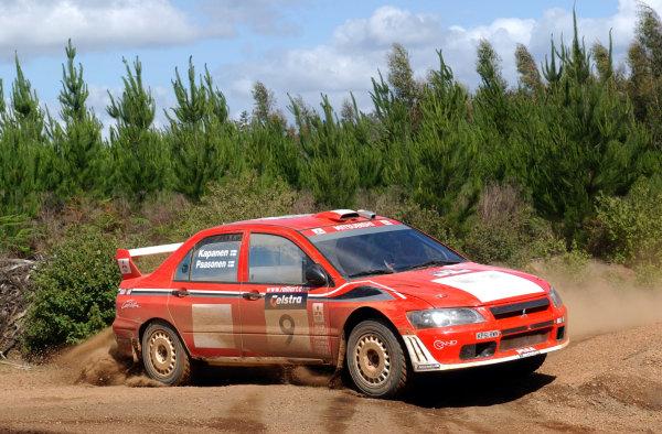 2002 World Rally Championship.Telstra Rally Australia, Perth. October 31st-November 3rd.Jani Paasonen on stage 6.Photo: Ralph Hardwick/LAT