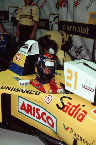 Pedro Diniz, Forti FG01 Ford.