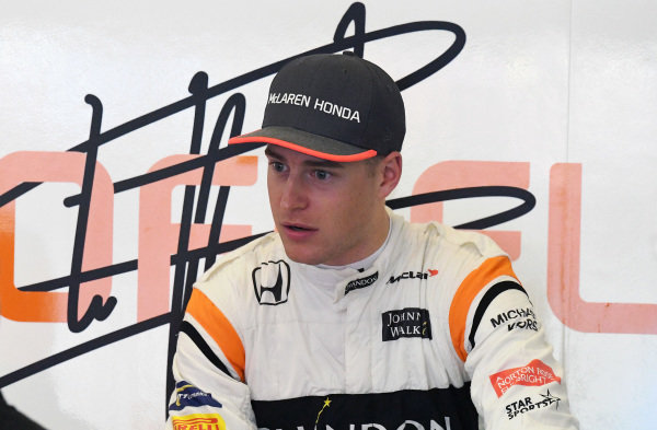 Stoffel Vandoorne (BEL) McLaren at Formula One World Championship, Rd2, Chinese Grand Prix, Practice, Shanghai, China, Friday 7 April 2017.