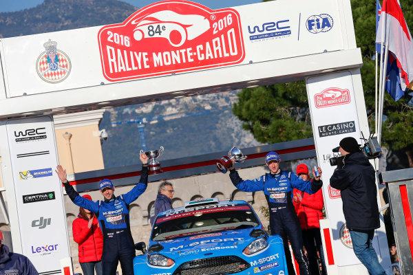 2016 World Rally Championship, Round 01, Rally Monte Carlo, 21st - 24th January, 2016 Elfyn Evans, Ford, winner WRC-2  Worldwide Copyright: McKlein/LAT