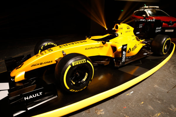 Albert Park, Melbourne, Australia. Wednesday 16 March 2016. The Renault RS16 in its new livery. World Copyright: Andy Hone/LAT Photographic ref: Digital Image _ONY9915