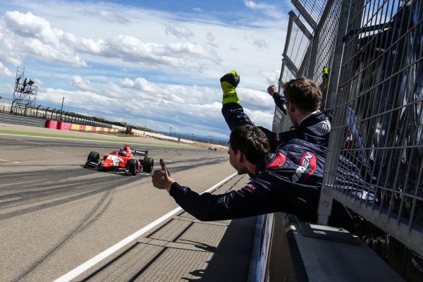 ALCANIZ (ESP), April 15-17 2016: World Series by Renault at Motorland Aragon. Aurelien Panis #8 Arden Motorsport. Portrait. © 2016 Sebastiaan Rozendaal / Dutch Photo Agency / LAT Photographic