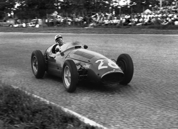 Monza, Italy. 5th September 1954.