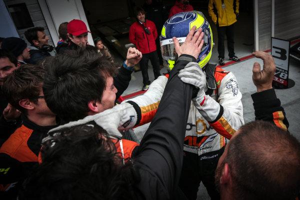 BUDAPEST (HUN) APR 22-24 2016 - Second round of the Formula V8 3.5 at the Hungaroring. Tom Dillmann #16 AVF. Action. © 2016 Diederik van der Laan  / Dutch Photo Agency / LAT Photographic