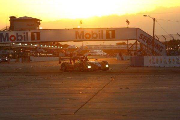 Emmanuel Collard (FRA) Penske Racing Porsche RS Spyder.American Le Mans Series, Rd1, Sebring 12 Hours, Sebring, USA, 15 March 2008.