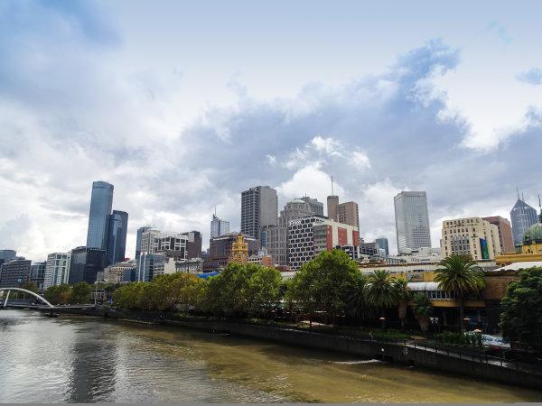 Melbourne, Australia Tuesday 21 March 2017. A view of Melbourne over the Yarra River Photo: Sam Bloxham/LAT ref: Digital Image DSC00012