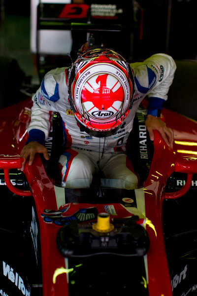 Circuit de Barcelona Catalunya, Barcelona, Spain. Tuesday 14 March 2017. Nobuharu Matsushita (JPN, ART Grand Prix). Photo: Alastair Staley/FIA Formula 2 ref: Digital Image 580A1050