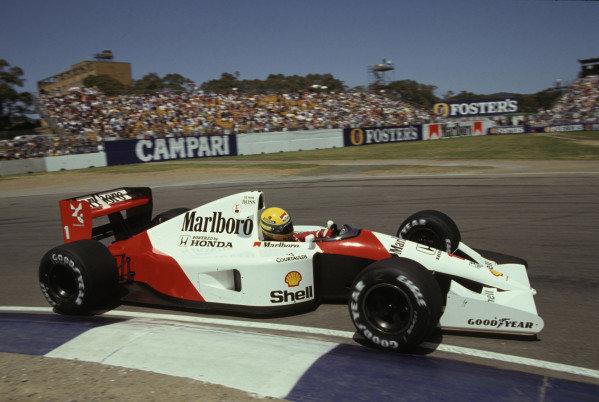 Ayrton Senna, McLaren MP4-6 Honda.