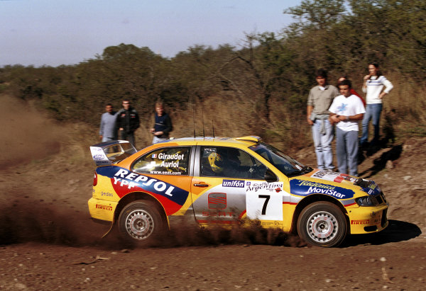 2000 Argentina Rally.