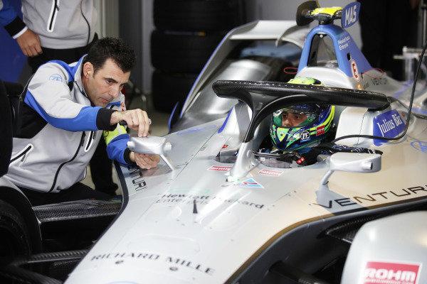 Felipe Massa (BRA), Venturi Formula E, Venturi VFE05, in the garage