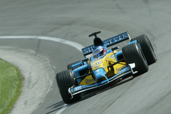 2002 USA Grand Prix - PracticeIndianapolis, USA, 27th September 2002Jenson Button.World Copyright: Steve Etherington/LATref: Digital Image Only