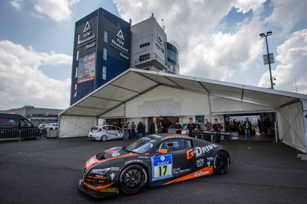WRT Racing Team Audi R8 LMS ultra at technical inspection