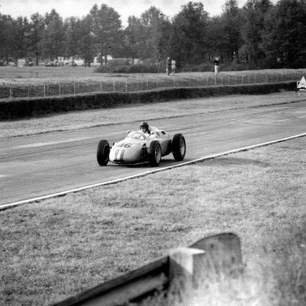 1961 Italian Grand Prix, Monza, Italy.Dan Gurney (Porsche 718), 2nd position.Ref-10607.World - LAT Photographic