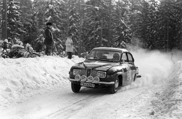 Stig Blomqvest / Bo Reinicke, Saab 96 V4.
