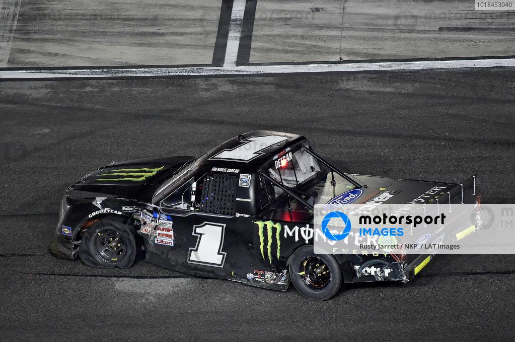 #1: Hailie Deegan, Team DGR, Ford F-150 Monster Energy