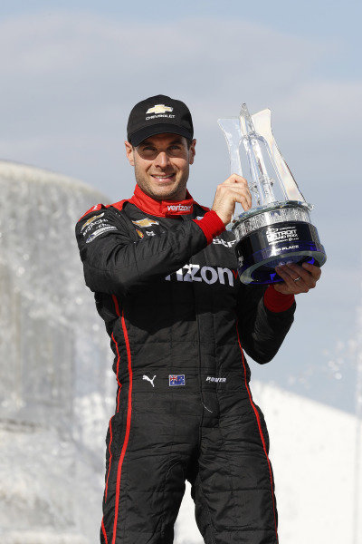 Will Power, Team Penske Chevrolet, podium