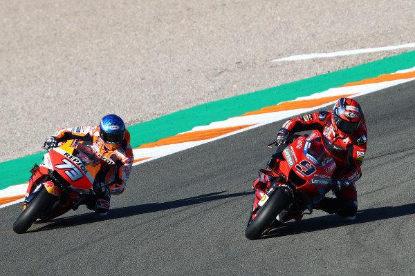 Danilo Petrucci, Ducati Team, Alex Marquez, Repsol Honda Team.