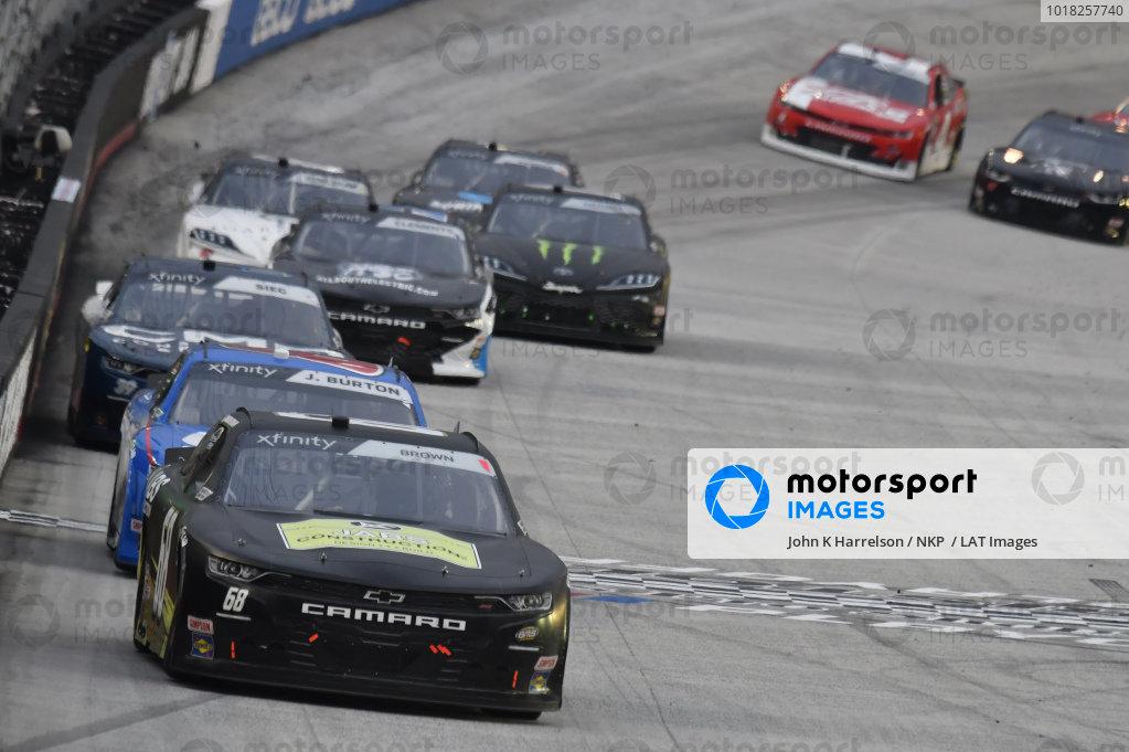 #68: Brandon Brown, Brandonbilt Motorsports, Chevrolet Camaro Jabs Construction