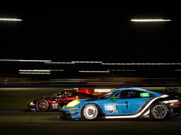 #55 Mazda Team Joest Mazda DPi, DPi: Jonathan Bomarito, Harry Tincknell, Ryan Hunter-Reay, /w46/