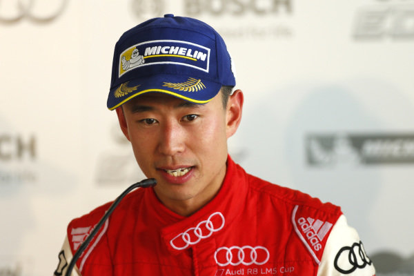 Franky Cheng (CHN) FAW-VW Audi Racing Team during press conference at Audi R8 LMS Cup, Rd4, Sepang, Malaysia, 4-6 September 2015.