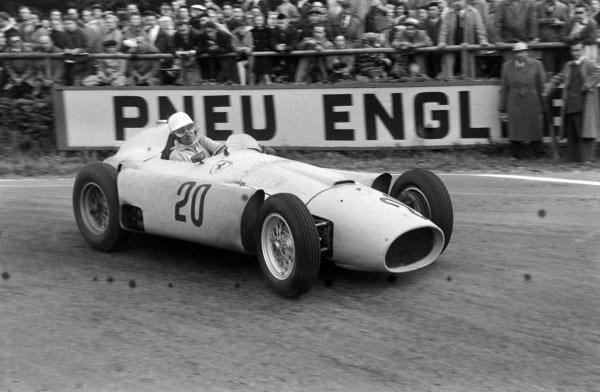André Pilette, Ferrari D50.