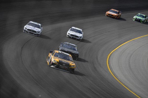 #20: Erik Jones, Joe Gibbs Racing, Toyota Camry DeWalt, #51: Cody Ware, Petty Ware Racing, Ford Mustang, #14: Clint Bowyer, Stewart-Haas Racing, Ford Mustang One Cure