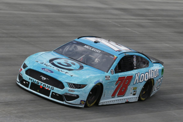 #78: B.J. McLeod, Live Fast Motorsports, Ford Mustang Surface Sunscreen/Koolbox ICE