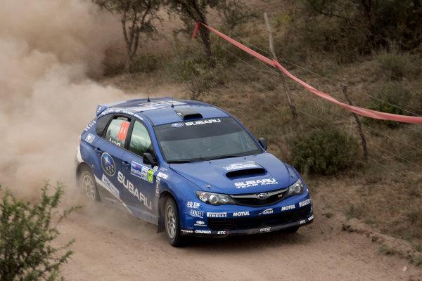 Round 05Rally Argentina 24- 27 of April 2009Toshi Arai, Subaru, PWRC, ActionWorldwide Copyright: McKlein/LAT