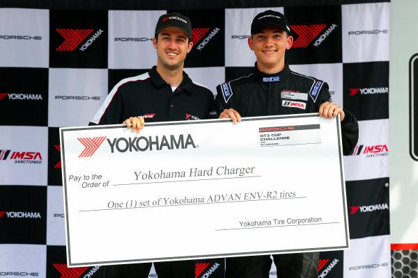 21-23 August 2015, Alton, Virginia USA GT3 Cup USA, Race 2, Hard Charger Award ?2015, Jake Galstad LAT Photo USA