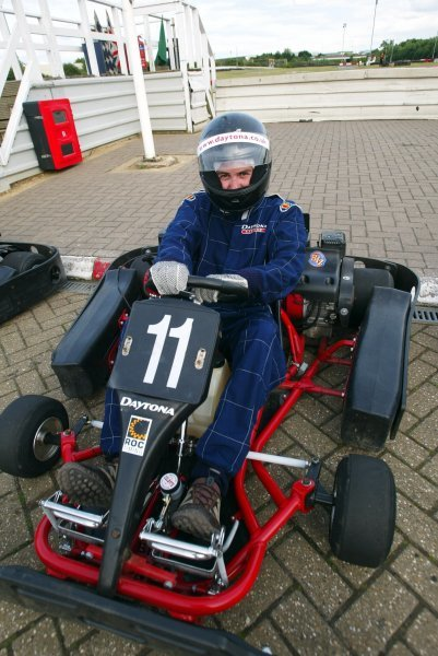 Will Buxton (GBR) F1 Magazine finished a fine tenth.  Sutton Motorsport Images Annual Karting Grand Prix; Daytona International Raceway, Milton Keynes, England, 24 July 2003.DIGITAL IMAGE