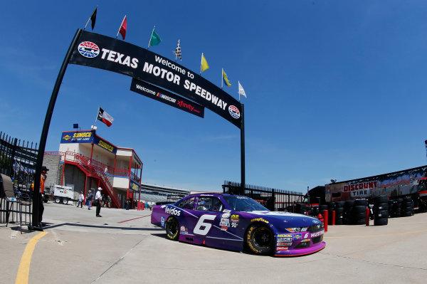 2017 NASCAR Xfinity Series My Bariatric Solutions 300 Texas Motor Speedway, Fort Worth, TX USA Friday 7 April 2017 Darrell Wallace Jr World Copyright: Matthew T. Thacker/LAT Images ref: Digital Image 17TEX1mt1145