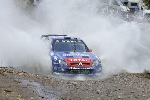 2006 FIA World Rally Champs. Round 6Rally Argentina. 27th-30th April 2006Sebastien Loeb, Citroen, action.World Copyright: McKlein/LAT