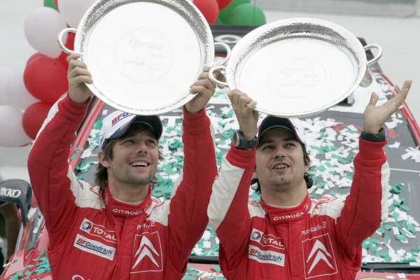 2007 FIA World Rally ChampionshipRound 4Rally Mexico 20078th-11th March 2007Sebastien Loeb, Podium.Worldwide Copyright: McKlein/LAT