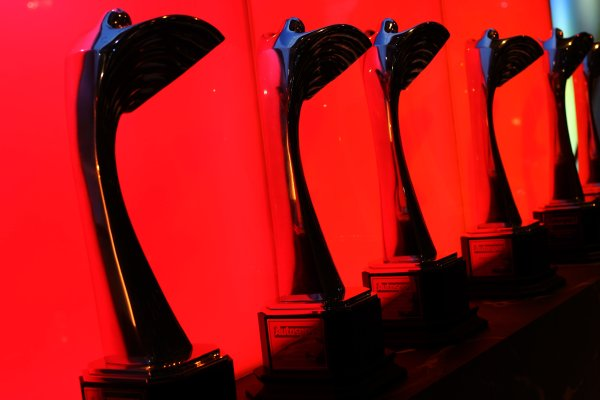 2006 Autosport AwardsGrosvenor House Hotel, London. 3rd December 2006.The awards, ready to be presented to their recipients.World Copyright: Peter Spinney/LAT Photographicref: Digital Image RK4O2562