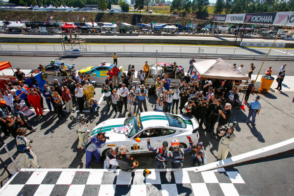 28-30 September, 2016, Braselton, Georgia USA 15, Ford, Shelby GT350R-C, GS, Scott Maxwell, Billy Johnson, podium ?2016, Jake Galstad LAT Photo USA
