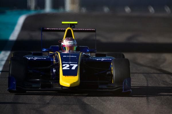 2016 GP3 Series Test 5. Yas Marina Circuit, Abu Dhabi, United Arab Emirates. Wednesday 30 November 2016. Raoul Hyman (RSA, DAMS)  Photo: Sam Bloxham/GP3 Series Media Service. ref: Digital Image _SLA1387