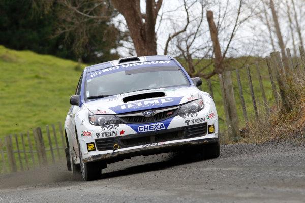 Round 7, Rally New Zealand, 21st-24th June 2012Marcos Ligato, Subaru, Action.