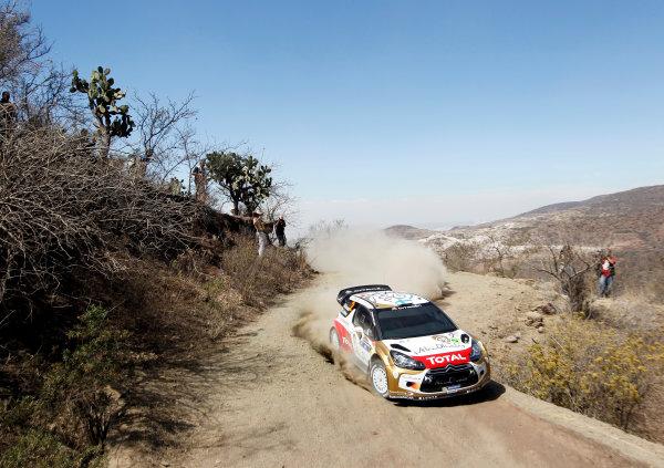 2013 World Rally Championship Rally Mexico 7th - 10th March 2013 Mikko Hirvonen, Citroen, action Worldwide Copyright: McKlein/LAT