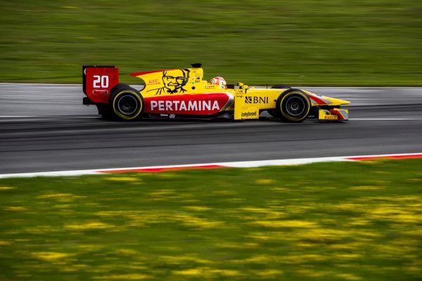 2017 FIA Formula 2 Round 5. Red Bull Ring, Spielberg, Austria. Friday 7 July 2017. Norman Nato (FRA, Pertamina Arden).  Photo: Zak Mauger/FIA Formula 2. ref: Digital Image _54I6490