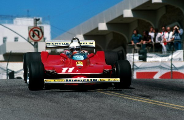 Jody Scheckter (RSA) Ferrari 312T4 finished the race in second position. United States Grand Prix West, Rd 4, Long Beach, California, USA, 8 April 1979.