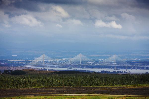 2017 British Touring Car Championship, Knockhill, Scotland. 12th-13th August 2017, Forth Road Bridge World copyright. JEP/LAT Images
