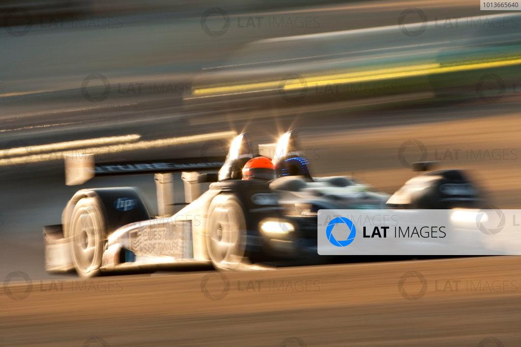 American Le Mans Series. Laguna Seca, Monterey, California. 15th - 17th September 2011. Ken Dobson / Henri Richard / Rene Villenueve, PR1 Mathiasen Motosports, Oreca FLM09. Action. Photo: Drew Gibson/LAT Photographic. ref: Digital Image _Y2Z6945