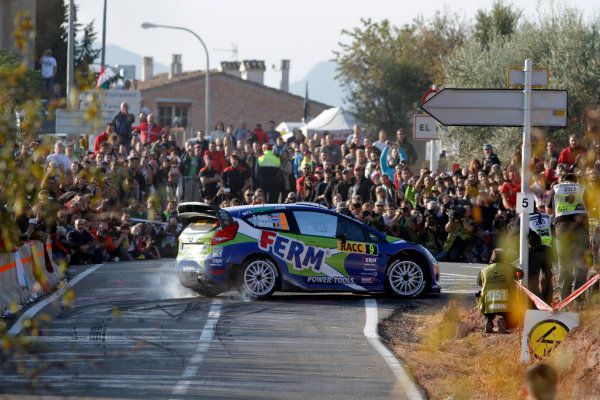 Round 12-Rally Spain. 20th-23th October 2011.Dennis Kuipers, Ford WRC, Action.Worldwide Copyright: McKlein/LAT