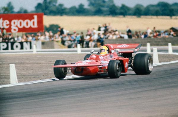 1971 British Grand Prix.  Silverstone, England. 15-17th July 1971.  Nanni Galli, March 711 Ford, 11th position.  Ref: 71GB27. World Copyright: LAT Photographic
