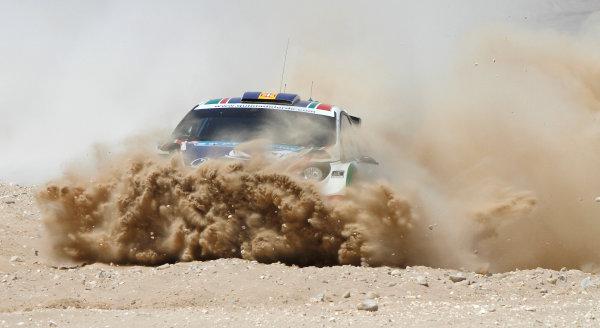 Round 04 Rally Jordan. 14th-16th April 2011.Bernardo Sousa, Ford SWRC, Action.Worldwide Copyright: McKlein/LAT