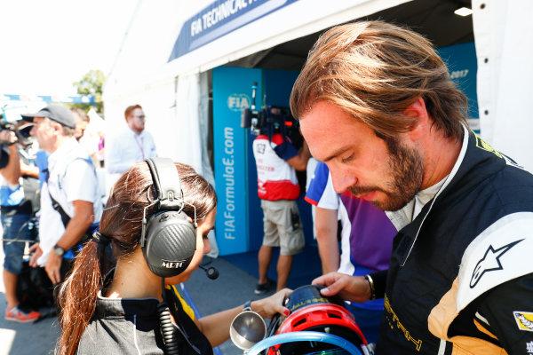 2016/2017 FIA Formula E Championship. Round 11 - Montreal ePrix, Canada Saturday 29 July 2017.Jean-Eric Vergne (FRA), Techeetah, Spark-Renault, Renault Z.E 16. Photo: Sam Bloxham/LAT/Formula E ref: Digital Image _J6I5233