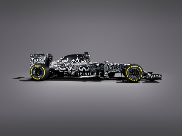 Infiniti Red Bull Racing RB11 Studio Images. Milton Keynes, UK. Friday 30 January 2015. The Red Bull Racing RB11. Photo: Red Bull Racing (Copyright Free FOR EDITORIAL USE ONLY) ref: Digital Image Red_Bull_RB11_Studio_2015_02