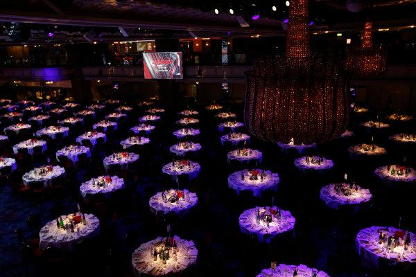 2014 Autosport Awards. Grosvenor House Hotel, Park Lane, London. Sunday 7 December 2014. Atmosphere. World Copyright: Sam Bloxham/LAT Photographic. ref: Digital Image _14P3411