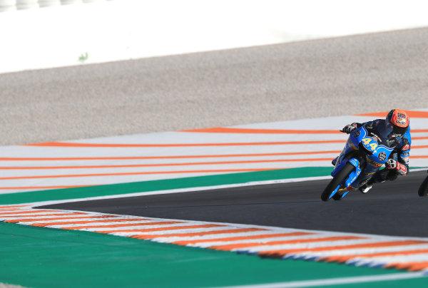 2017 Moto3 Championship - Round 18 Valencia, Spain  Friday 10 November 2017 Aron Canet, Estrella Galicia 0,0  World Copyright: Gold and Goose Photography/LAT Images  ref: Digital Image 704582